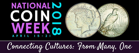 Brockton National Coin Week Logo
